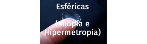 Esféricas(Miopía e hipermetropía)